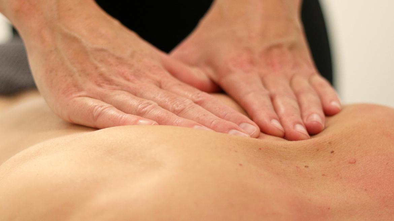 Massage régénérant du dos